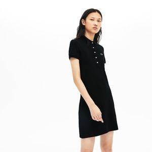 Lacoste Polo Women Shirt Dress Size EU 42 US 12